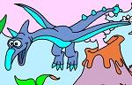 Раскраска. Динозавры №5