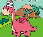 Раскраска. Динозавры №6