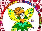 """Раскраски для девочек """"Эльфийская принцесса"""""""