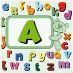 Large and small letters of the English alphabet